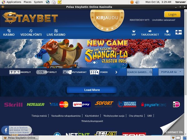 Staybet Gift Card