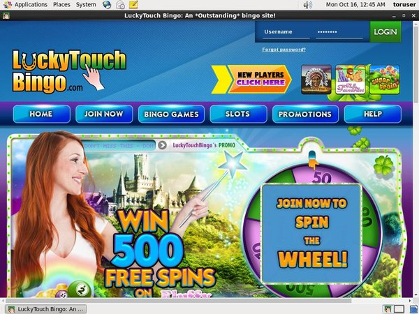 Lucky Touch Bingo Max Payout