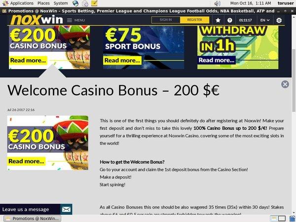 Noxwin Beste Casinos