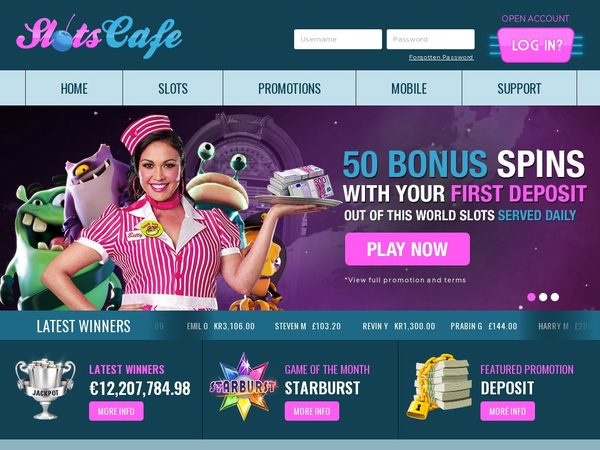 Slots Cafe Softbet