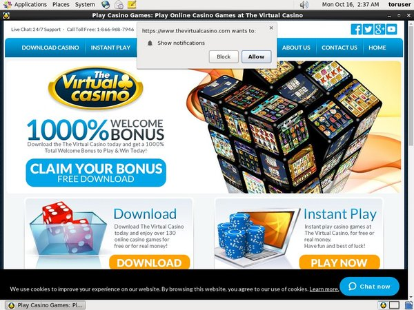 Virtual Casino Using Paypal