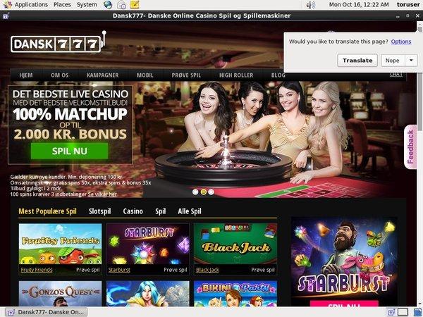Dansk777 Poker Paypal