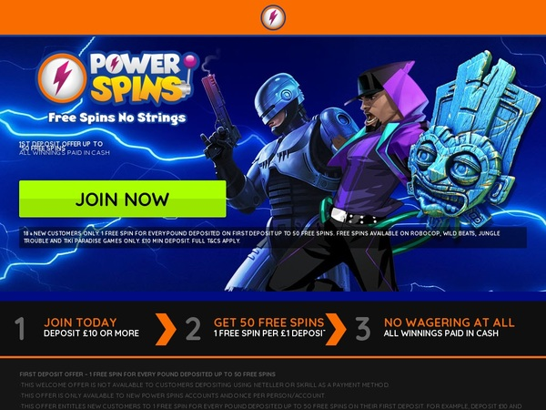 Does Powerspins Accept Paypal