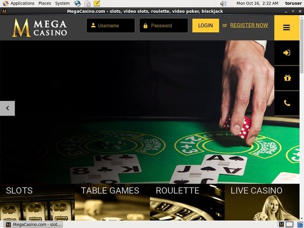 Mega Casino Top Online Casinos
