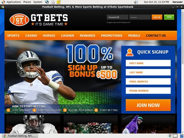 GT Bets Football Free Money