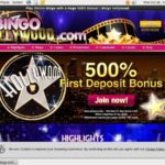 Bingo Hollywood Deposit Bonus