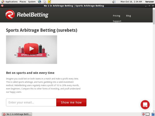 Rebelbetting Instant Play