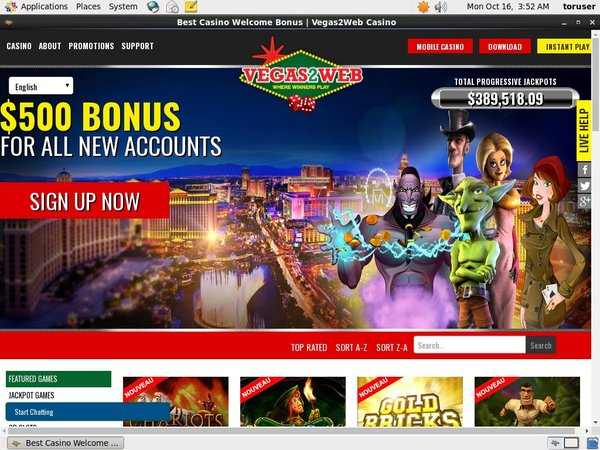 Vegas2web Beste Casinos