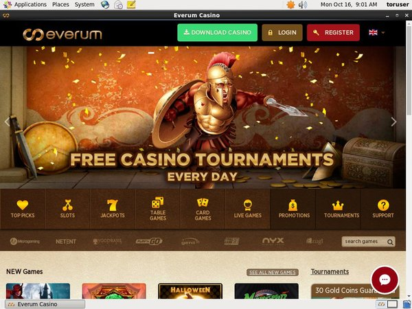 Everum Casino Slots Online