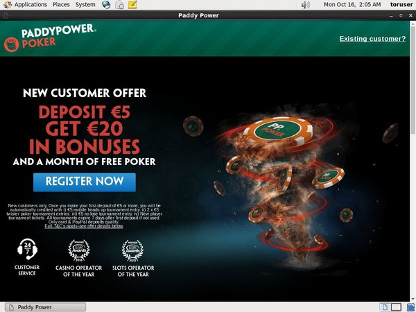 Paddy Power Poker Website