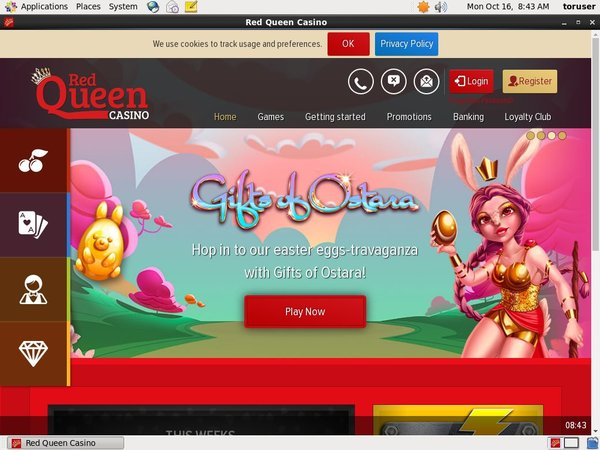 Red Queen Casino Free Promo Code