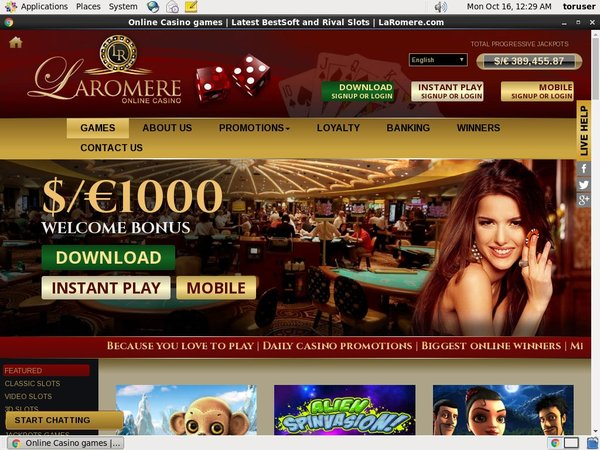 Laromere Casino Test