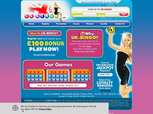 UK-Bingo Free Chip