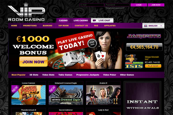 奖金 VIP Room Casino