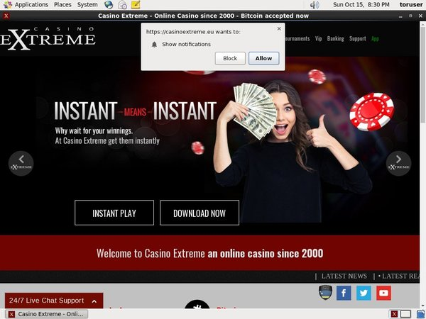Casinoextreme Join Free Bet