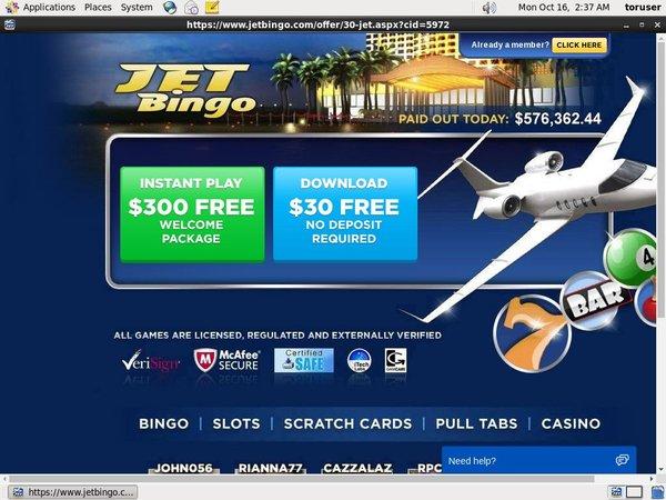 Jetbingo Online Casino Games