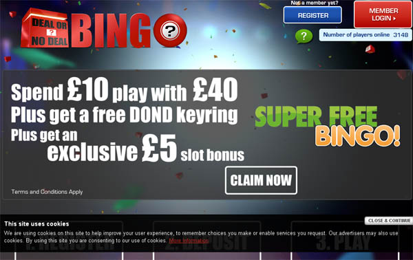 Dealornodealbingo Betsafe