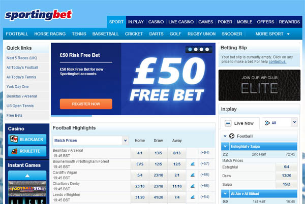 Sporting Bet UK Safetypay